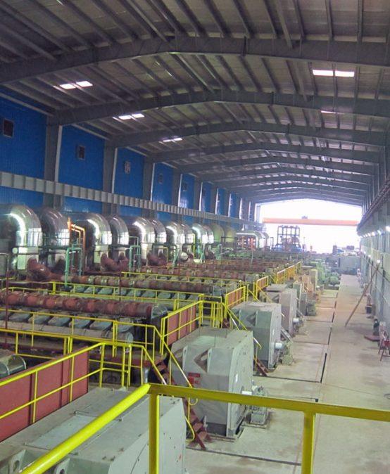 Centrale électrique d'huile lourde 142MW du Bengal