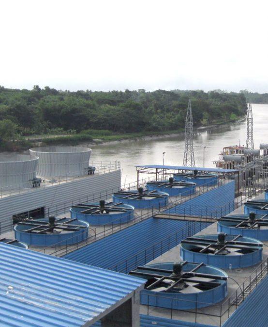 Centrale électrique à huile lourde 134MW de Bengal