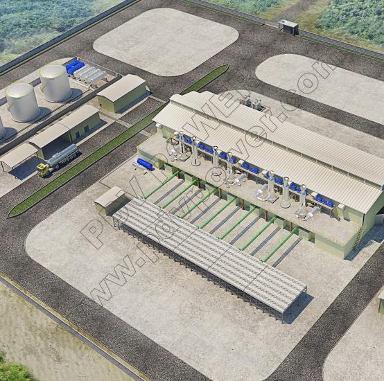Australia Cairn Hill Mine Power Plant